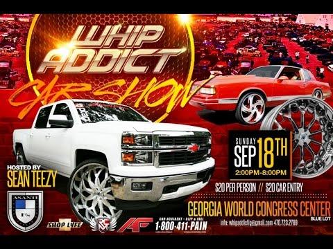 WhipAddict St Annual WhipAddict Car Show Sept Th In Atlanta GA - Car show world congress center atlanta