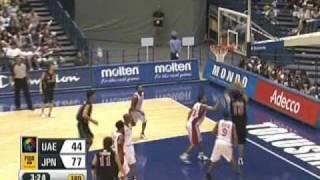 第24回FIBAアジア (対UAE・レバノン戦)