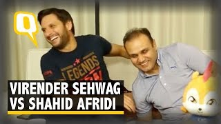 Sehwag vs Afridi: Watch What Happens When Two Cricketers Clash | The Quint thumbnail