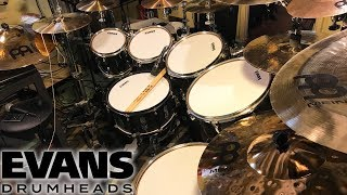 Testing the New Evans UV2 DrumHeads!