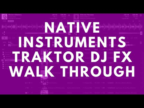 Beatworx DJ Tutorial #4 : Comprehensive use of Traktor's Effects - Part 1