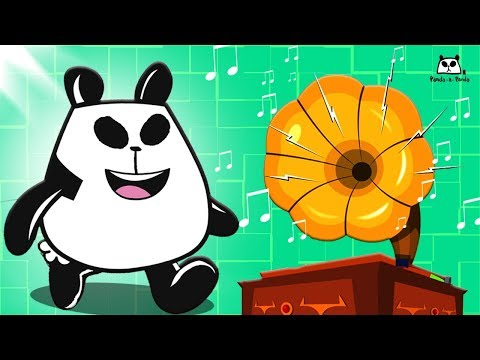 Spin Me Right Round | Panda A Panda Cartoons | Fun Shows For Kids