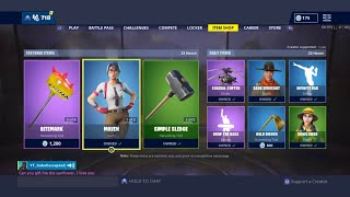 Gifting Skins!! FORTNITE ITEM SHOP COUNTDOWN May 20th item shop Fortnite Battle Royale