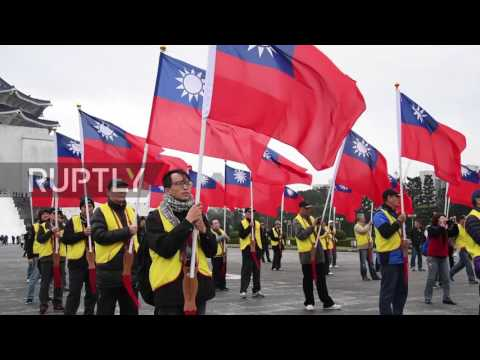 Taiwan: Protesters