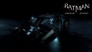 Batman: Arkham Knight - Batmobile Races [2008 Tumbler Batmobile] (HD,60fps)