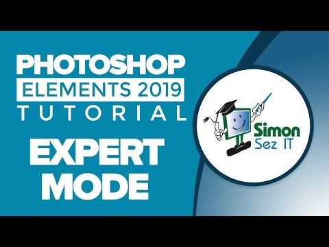 How To Use Expert Mode Tools In Photoshop Elements 2019