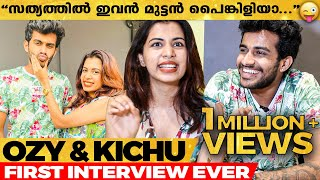 Friends-നെ കണ്ടാൽ പിന്നെ ഏത് Romance...ഏത്  Love😍| Diya & Kichu Opens Up | First Exclusive Interview