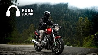 Honda CB750 Seven Fifty | Ride with 16 friends | PURE SOUND 🎧