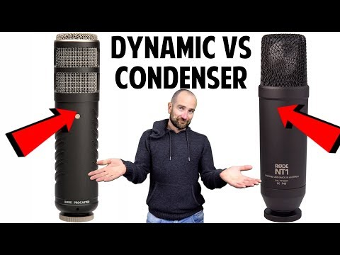 Dynamic Or Condenser Mic For Podcasting?