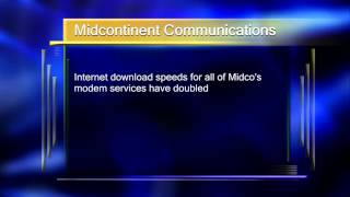 Midcontinent Communications Doubled Its Access Speed - Lakeland News at Ten - June 18, 2014