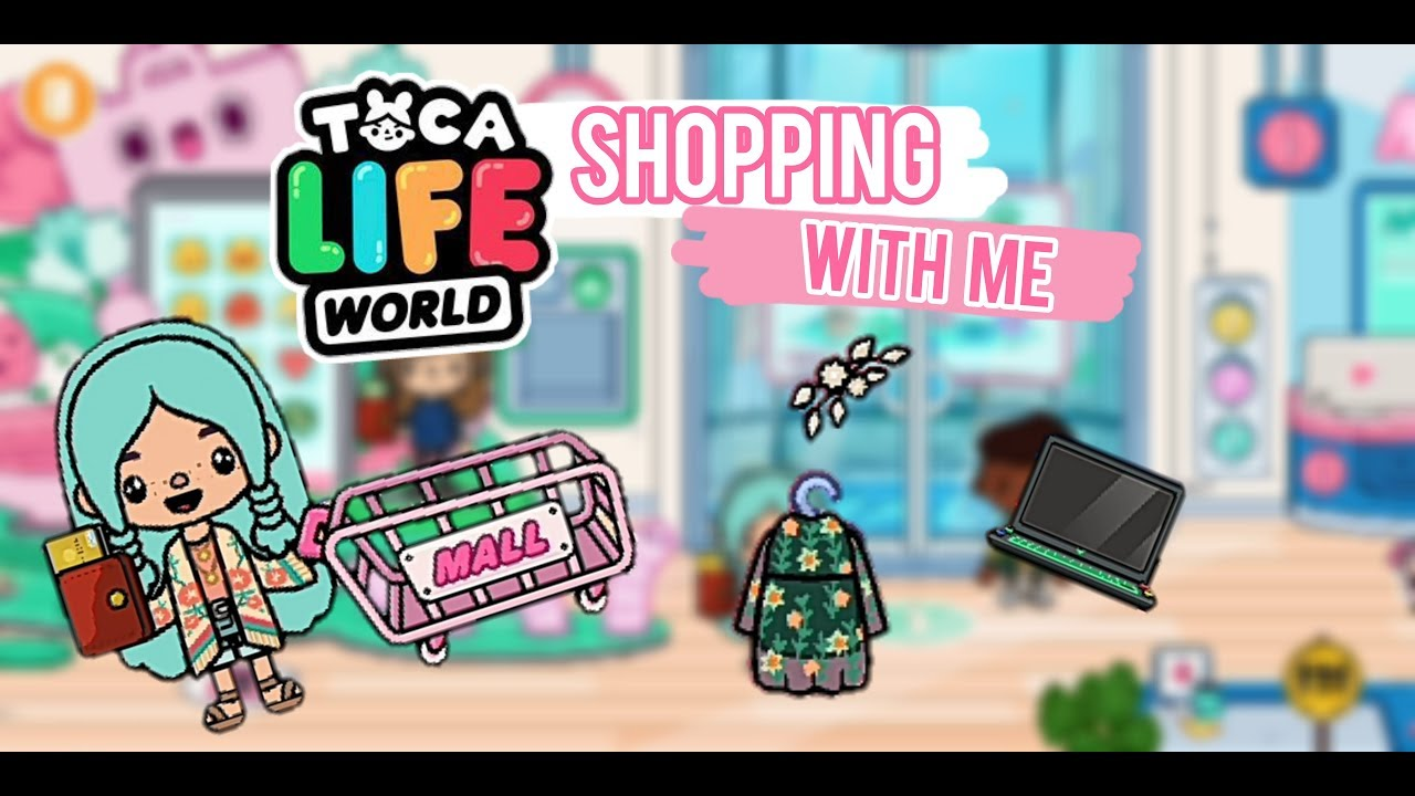 TOCA LIFE WORLD | SHOPPING IN THE MALL | NEW - YouTube