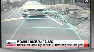 Korean researchers create weather resistant glass   물 안 맺히고 김 안 서리는 친환경 유리
