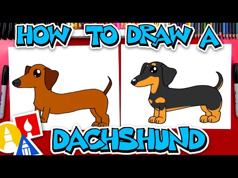 How To Draw Dachshund