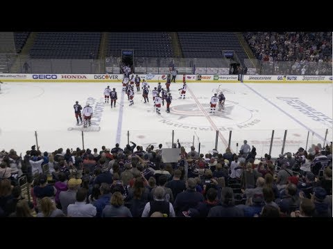 The Sports Feed - Thousands Of Fans Pack Nationwide Arena To Watch CBJ Practice