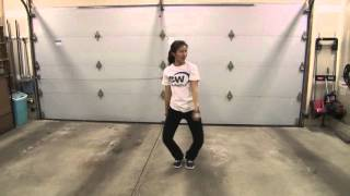 OMI Cheerleader cheer poms easy dance tutorial fun to learn choreography step by step routine