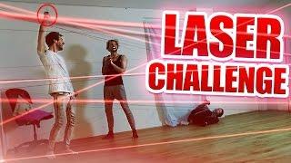 Jandre Laser Challenge! (feat. Rewi, Jodie & Regina)
