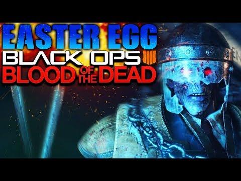 ¡PASOS FINALES del EASTER EGG de BLOOD OF THE DEAD! - MAIN EASTER EGG BLACK OPS 4