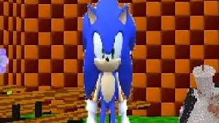 SONIC THE HEDGEHOG BALDI'S BASICS MOD