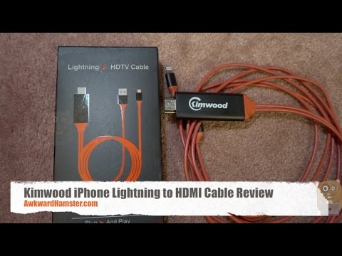 iphone 5 lightning cable kimwood iphone lightning to hdmi cable review 14538
