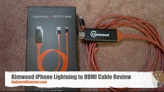 Kimwood iPhone Lightning to HDMI Cable Review