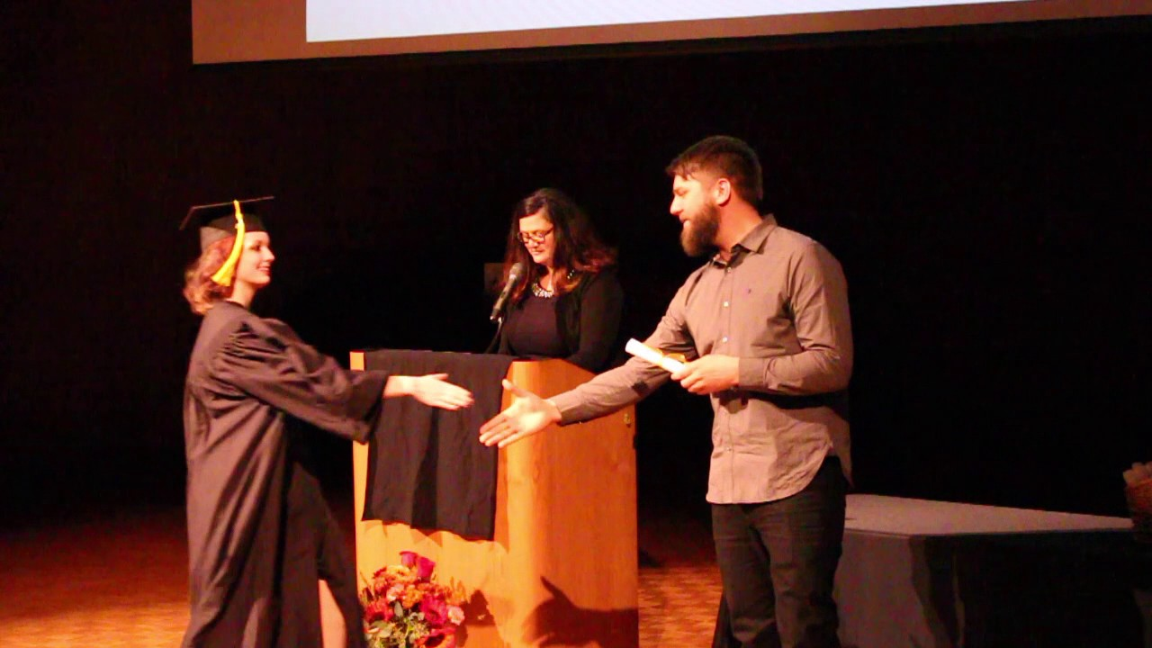 Minneapolis Media Institute - November 2016 Graduation - Diplomas