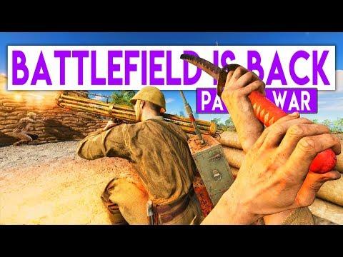 I'm a NINJA   Battlefield 5 Pacific Multiplayer  