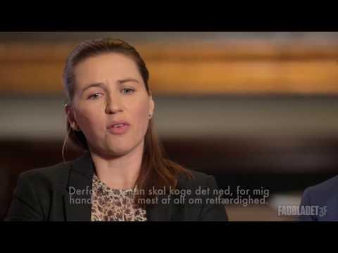Interview med Mette Frederiksen og Kristian Thulesen Dahl