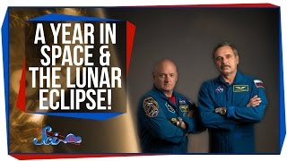 A Year in Space, and the Lunar Eclipse!