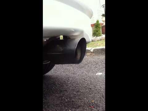 Twin Loop exhaust on K20A EK Civic Hatchback