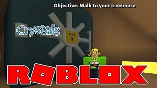 Roblox Treelands Gathering Crystals