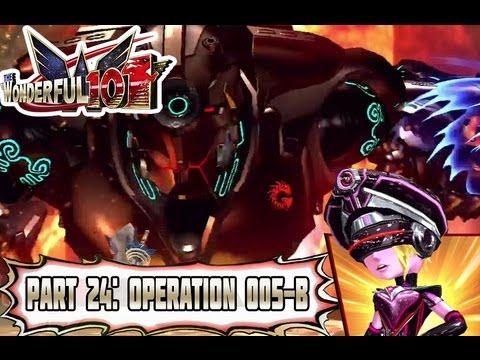 Wonderful 101 - Part 24: Operation 005-B: Gigantic Robot Ambush! [Normal Mode]