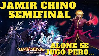 SEMIFINAL JAMIR CHINO JUNIO, SE JUGÓ ALONE PERO.... Saint Seiya Awakening KOTZ