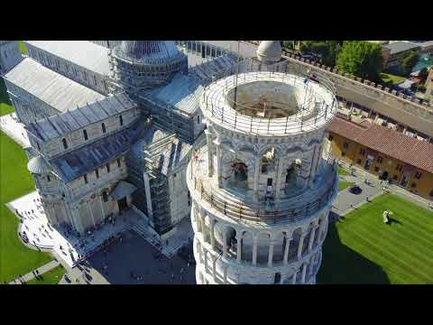 THE MAGNIFICENT TOWER OF PISA IN 4K