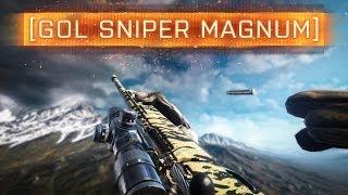 ► BF4 GOL MAGNUM SNIPER! | Battlefield 4 Weapon Review - Second Assault