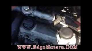 VW Jetta TDI 1.9T Coolant Temperature Sensor Replacement DIY by Edge Motors