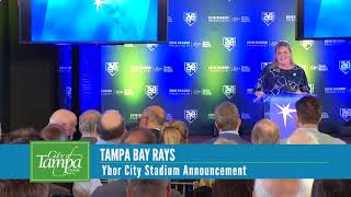 Tampa Bay Rays Stadium Announcement