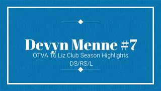 Devyn Menne OT 16 Liz Mid-Season Highlights