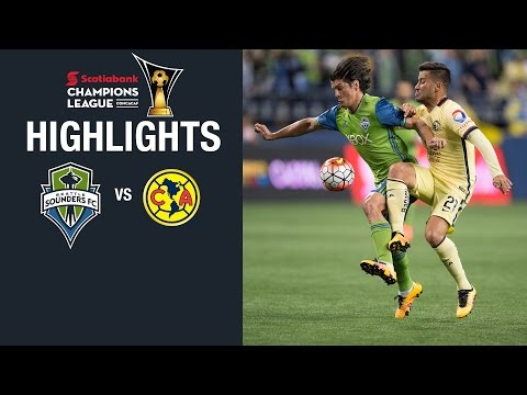 HIGHLIGHTS: Seattle Sounders FC vs. Club America | Scotiabank CONCACAF Champions League