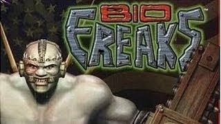 Classic PS1 Game Bio Freaks on PS3 in HD 1080p