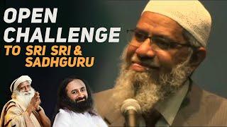OPEN CHALLENGE😝 Sadhguru Destroys Zakir Naik's REFERENCE Branding!