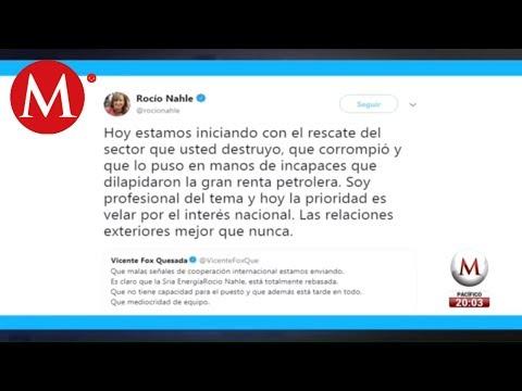 """""""Hoy iniciamos el rescate del sector que usted destruyó"""": Rocío Nahle"""