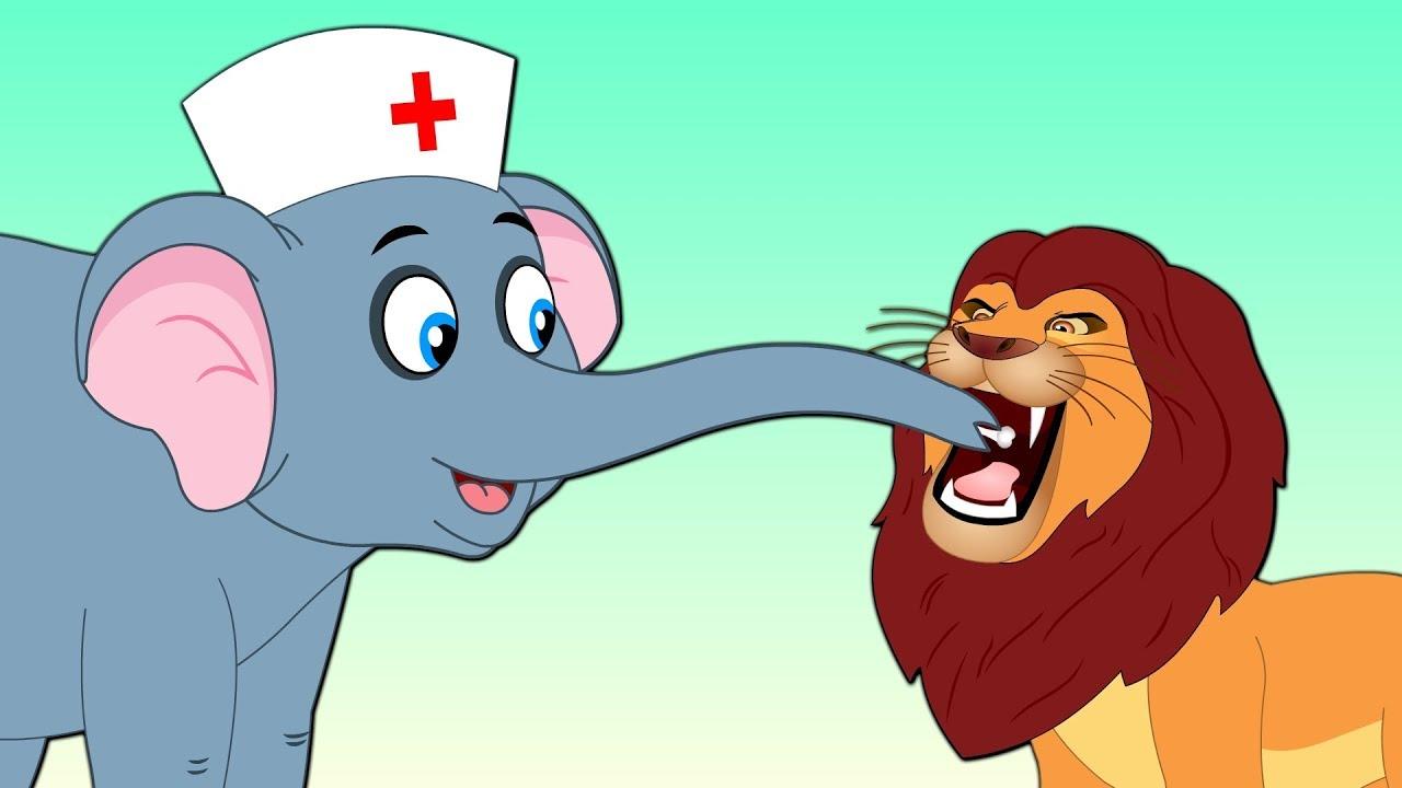 The Lion and Elephant moral story   शेर और हाथी की दोस्ती कहानी   Hindi fairy tales – JOJO TV