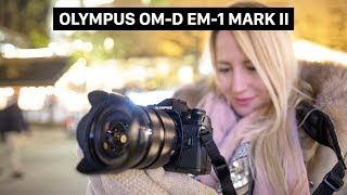 Olympus OM-D E-M1 Mark II hands on | high frame rate | 4k video and  image stabilizer