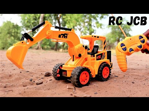 Remote Controlled JCB Unboxing and Testing   RC Bulldozer