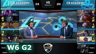 Video CLG Academy vs Cloud 9 Academy | Week 6 NA Academy League Summer 2018 | CLGA vs C9A download MP3, 3GP, MP4, WEBM, AVI, FLV Agustus 2018