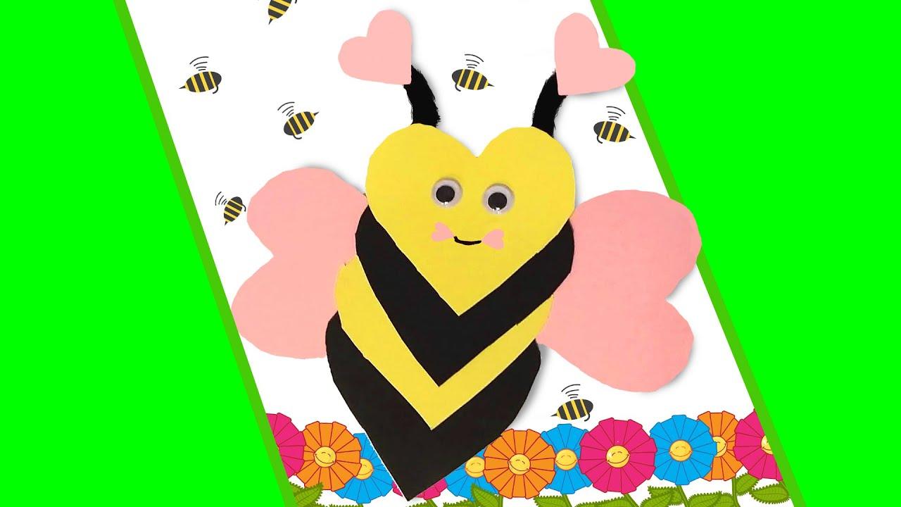 Niedliche Biene Basteln So Bastelst Du Ein Süßes Geschenk Süße Biene Aus Herzen