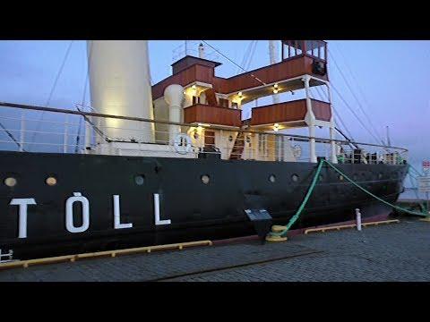 Экскурсия по ледоколу Suur Toll. Эстония, Таллин