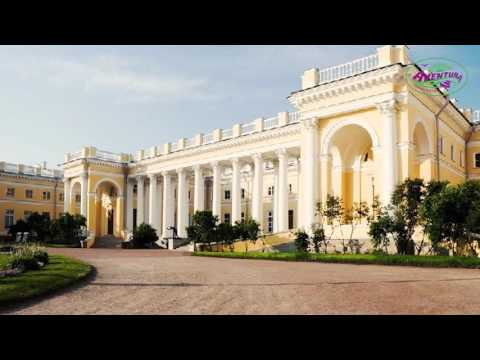 Aventura Travel. Palazzo di Caterina a San-Pietroburgo. Tours in Russia
