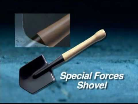 Cold Steel Special Forces Shovel - Demonstration & Review