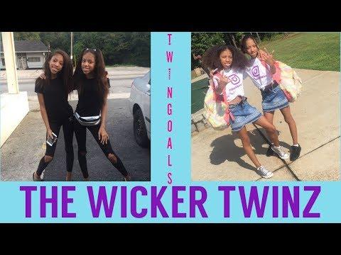 TWIN GOALS || THE WICKER TWINS COMPILATION || #twins #thewickertwinz #instagramstars